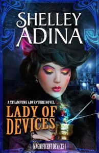 Shelley Adina's Lady of Devices book cover